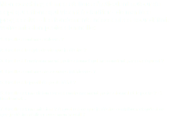 mission professionnelle et marketing de soi